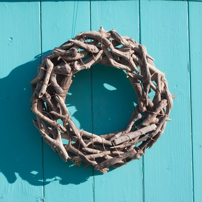 Driftwood Wreath Beachhut